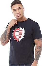 883 Police short sleeve jersey t-shirt with large printed logo