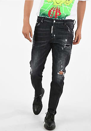 Dsquared2 16cm Stretch Denim CLASSIC KENNY TWIST Jeans Größe 46