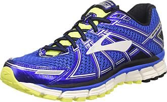 Brooks Mens Adrenaline Gts 17 Gymnastics Shoes, Blue (Electric Blue/Black/Nightlife), 7 UK
