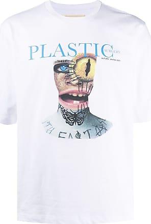 Youths in Balaclava Camiseta de algodão com estampa Plastic - Branco