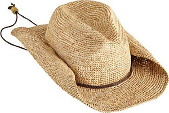 4a7e345564df7e Delivery: free. San Diego Hat Company Womens Crocheted Raffia Cowboy Hat,Natural,One  Size
