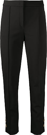 Escada button cuff trousers - Preto