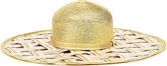 Missoni Woven metallic wide-brimmed hat