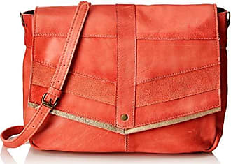 79bdce7f9 Pieces Pcfrances Leather Large Cross Body, Bolsos bandolera Mujer, Rosa  (Pink Coral)