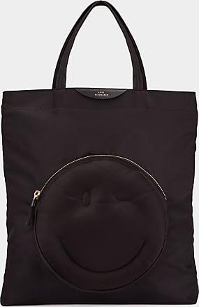 Anya Hindmarch Wink Chubby Tote Nylon in Black