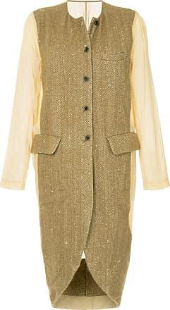 Uma Wang insert detail coat - Brown