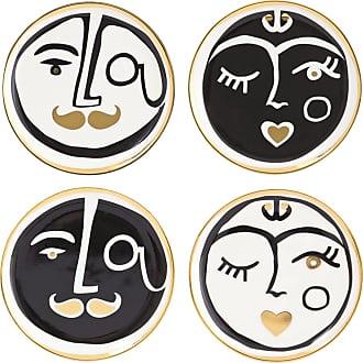 Jonathan Adler Marseilles Coasters - Set of 4