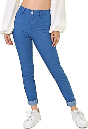 Triton Calça Jeans Triton Skinny Michelle Azul