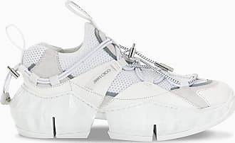 Jimmy Choo London Sneaker Diamond Trail bianca