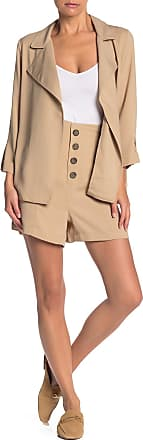 14th & Union Buttoned Pull-On Paperbag Shorts