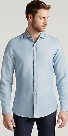 Hackett Mens Chambray Cotton Shirt   Medium   Sky