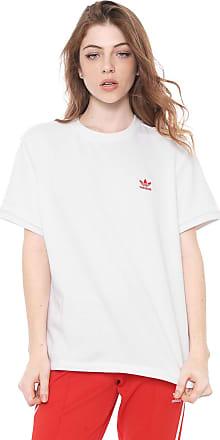 adidas Originals Camiseta adidas Originals Vday BF Tee Branca