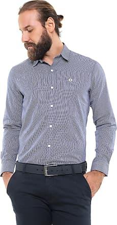 Iodice Camisa Iódice Reta Logo Azul/Branca