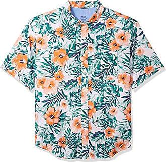 fee6db4e Izod Mens Big Saltwater Chambray Short Sleeve Shirt, Bright White, 2X-Large  Tall