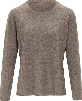 include Round neck jumper in pure new wool and cashmere include beige