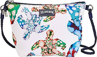 Vilebrequin Women - Beach Shoulder Bag Watercolor Turtles - OSFA