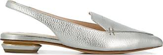 Nicholas Kirkwood Slipper mit spitzer Kappe - Silber