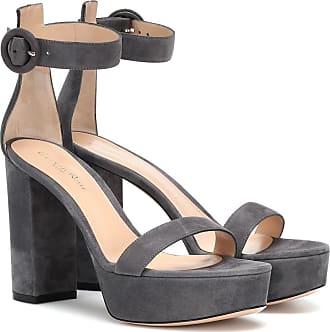 Gray Platform Heel Sandals: 6 Products