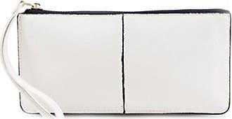 LeahWard Womens Faux Leather Wristlet Purse Nice Bag Great Brand Purses Card Key Photo Bus Pass Holder For Women 20146 (WHITE Matte Wristlet Purse)