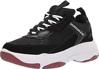 91b41281e2c Calvin Klein Jeans Calvin kleine jeans heren zwart marvin chunky sneakers -  zwart, maat:
