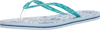 Vera Bradley womens Flip Flops Green Size: 5-6
