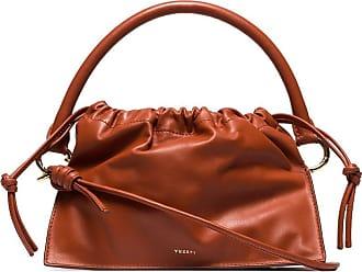 Yuzefi Bom leather tote bag - Brown