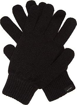 Paul Smith Cashmere-blend Gloves - Mens - Black