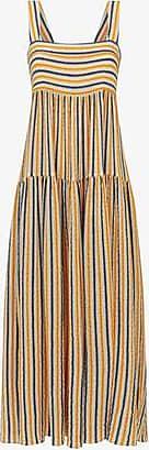 Three Graces London Cosette Maxi Dress in Stripe