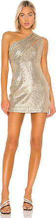 Rachel Zoe Magda Dress in Metallic Gold