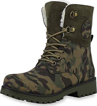 Scarpe Vita Women Bootee Worker Boots Lined Prints Tread Sole 172132 Camouflage UK 5 EU 38