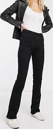 Levi's 725 sculpt high waist boot kick jean-Black