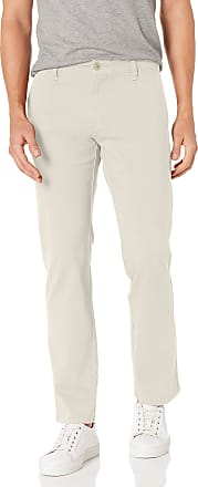 Dockers Mens Modern Straight Smart 360 Flex Ultimate Chino Casual Pants, Porcelain Khaki, 33W x 32L