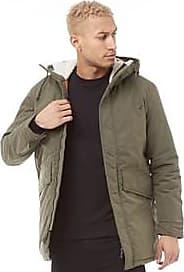 Jack & Jones parka jacket with borg lined hood