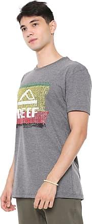 Reef Camiseta Reef Rasta Woven Grafite