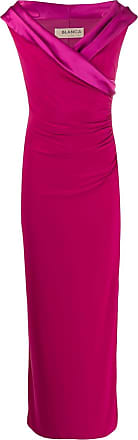 Blanca fitted evening dress - Rosa
