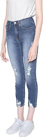 Calvin Klein Jeans Calça Jeans Calvin Klein Jeans Slim High Rise Azul