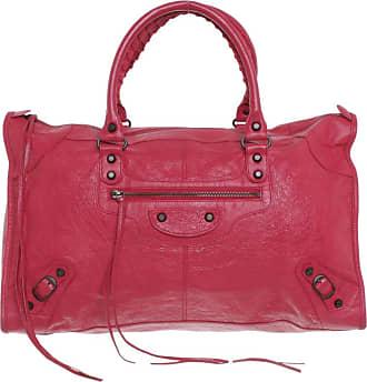 Balenciaga gebraucht - Balenciaga-Work Bag in Rot - Handtasche - Damen - Leder