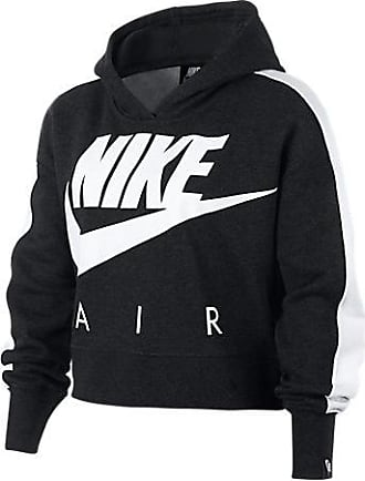 5ac9eb2639bb Nike Girls Sportswear Cropped Fleece Hoodie