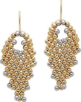 Tinna Jewelry Brinco Dourado Malha (Pequeno)