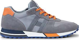 Hogan Sneakers H383, ORANGE,GRAU, 6.5 - Schuhe