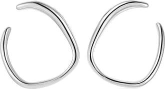 Monica Vinader Nura Reef Wrap earrings - SILVER