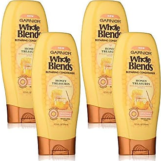 Garnier Whole Blends Repairing Conditioner Honey Treasures, For Damaged Hair, 4 Count