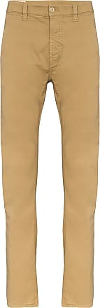 Nudie Jeans Calça chino slim Adam - Marrom