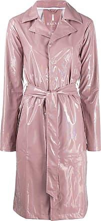 Rains belted raincoat - PINK