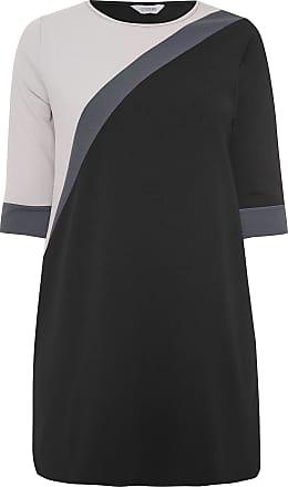 Yours Clothing Clothing Womens Plus Size Shift Dress Size 22 Black