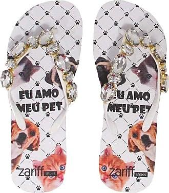Zariff Chinelo Zariff Shoes Patinhas Pedras