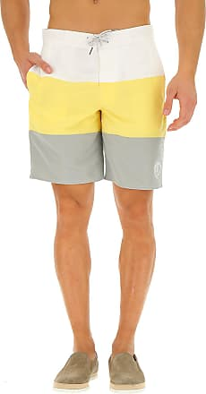 efda0a4fdacaf Emporio Armani Swim Shorts Trunks for Men On Sale in Outlet, White,  polyester,