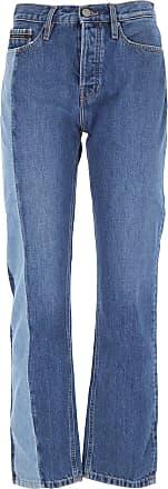 Calvin Klein Jeans On Sale in Outlet, Denim Medium Blue, Cotton, 2017, 25 26 27 28 29
