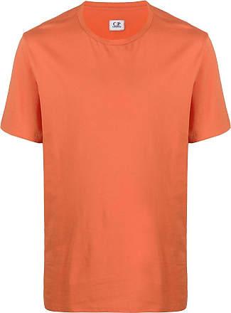 C.P. Company Camiseta decote careca de jérsei - Laranja
