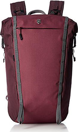 Victorinox by Swiss Army Altmont Active Rolltop Compact Laptop Backpack, Burgundy, One Size